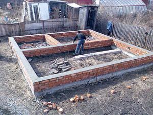 Строим фундамент для дома своими руками 339