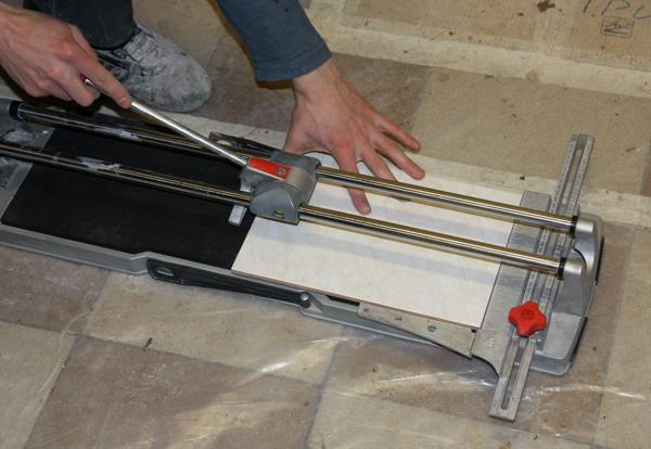 Мастер класс по укладке плитки на полу
