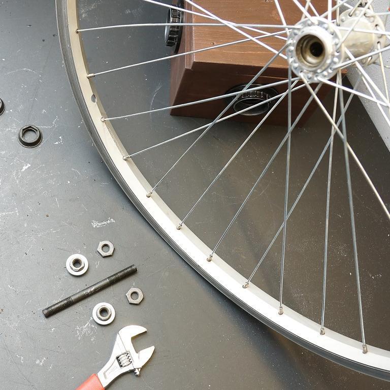 Втулка на колесе