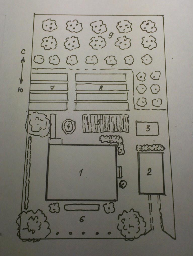 План дачного участка