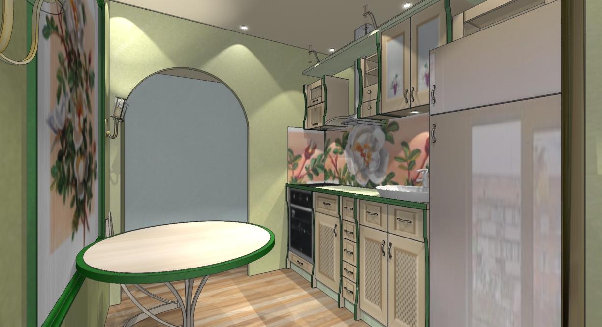 Кухня 5 м