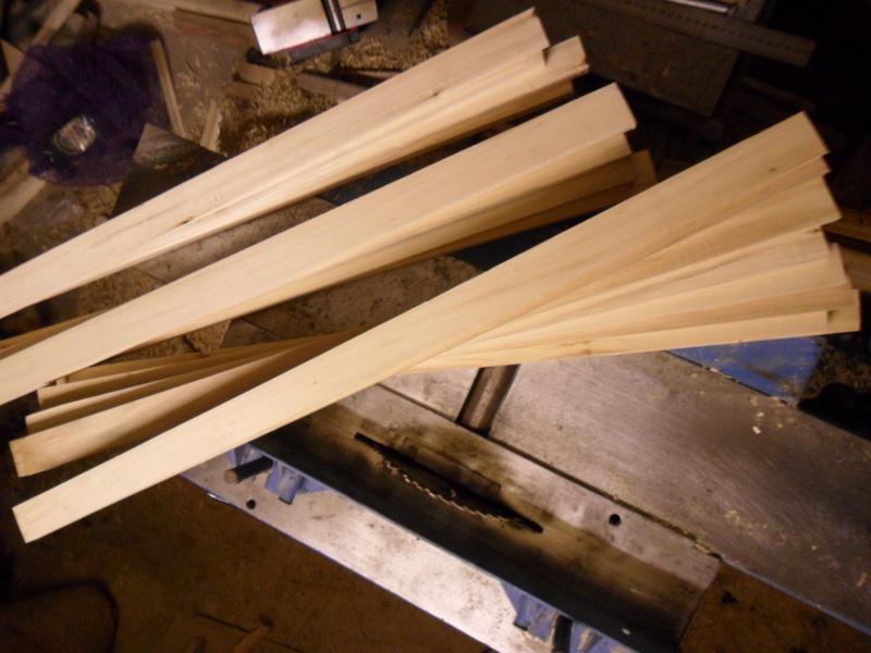 Изготавливаем вертикальные реечки