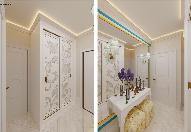 Дизайн-проект интерьера квартиры для молодой пары
