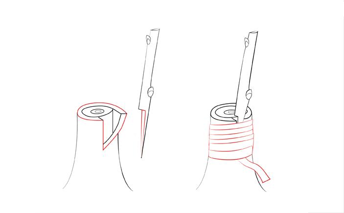 Прививка седлом за кору
