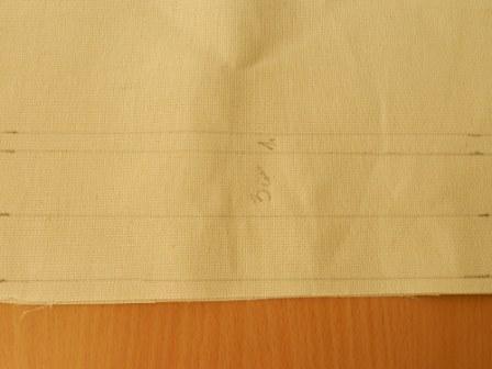 разметка ткани фото