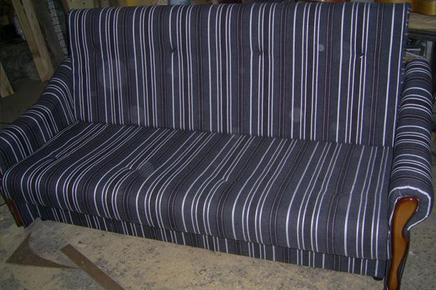 Сложенный диван