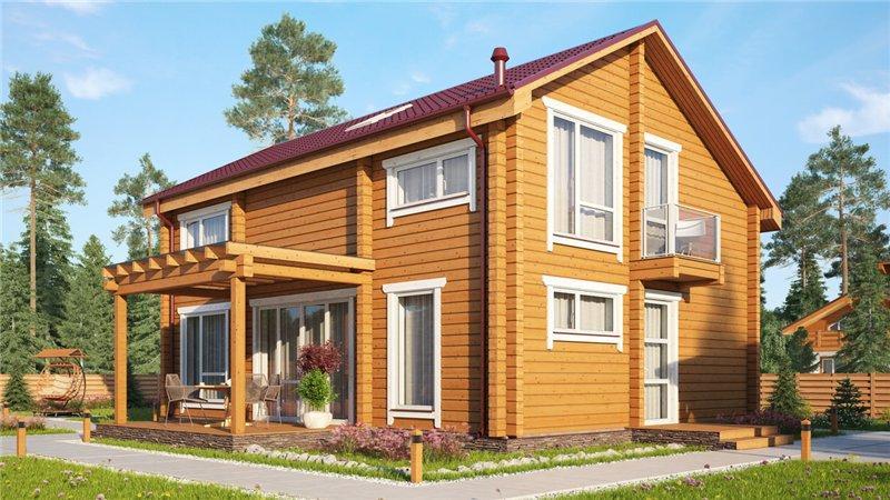 Строительство домов изклееного бруса. Как неошибиться свыбором материала