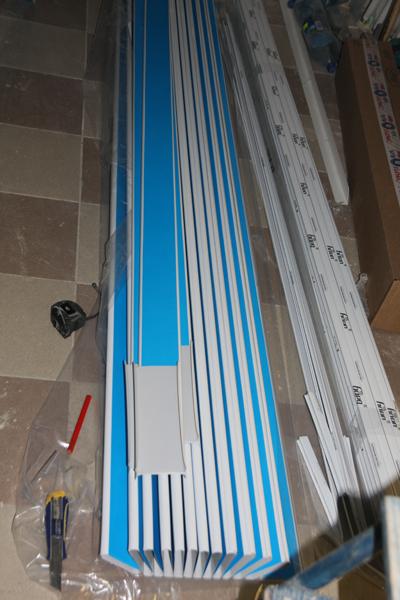 Монтаж реечного потолка своими руками инструкция