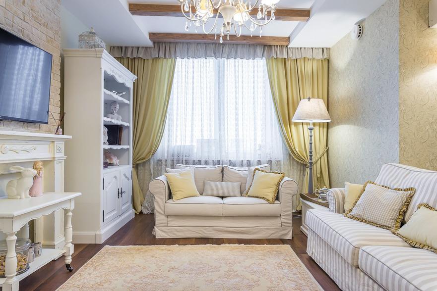 Как создать интерьер для маленькой икомфортной гостиной
