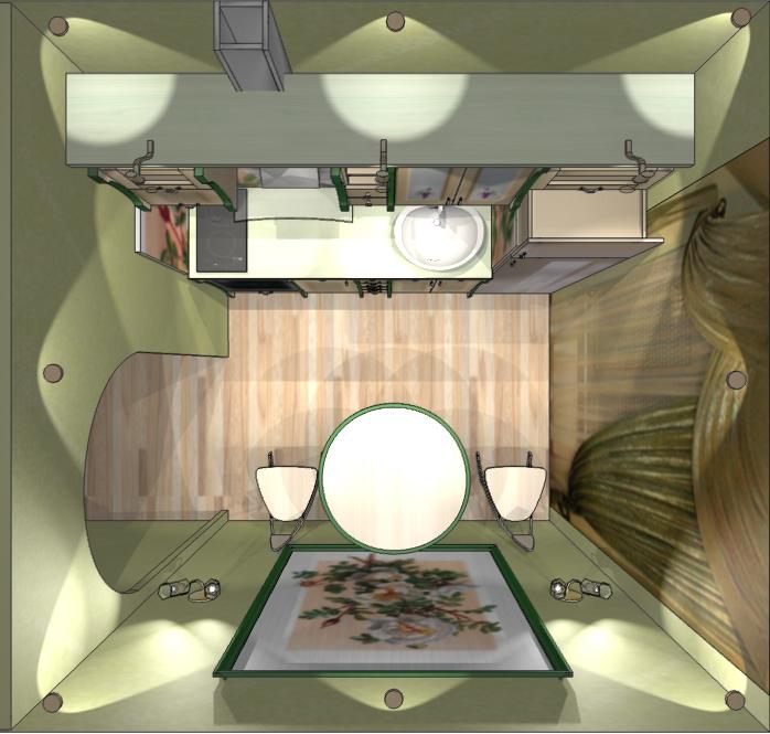 Дизайн 5 м кухни