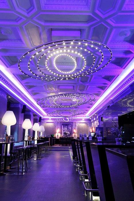 Основные правила освещения ресторана