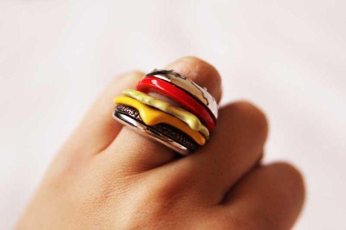 Кольцо бутерброд