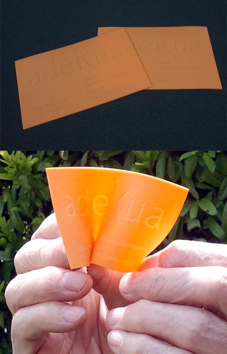 Яркая визитка
