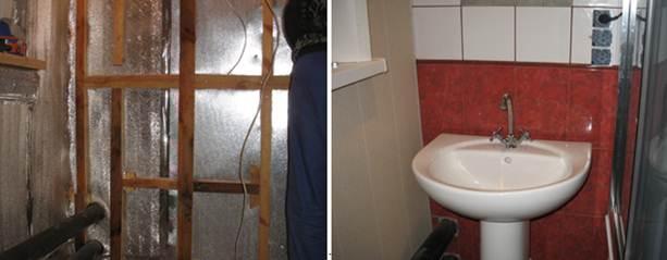 отражающая изоляция в ванной