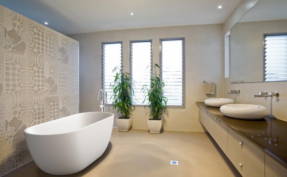 как выбрать цвет плитки для ванной комнаты песочной