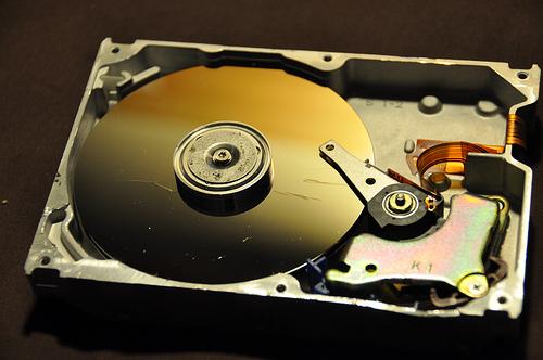 замена жёсткого диска